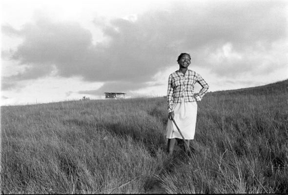 Rural young woman in iNyoni, Kwazulu/Natal. 1983© Cedric Nunn